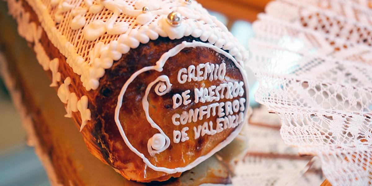 Detalle de la mejor Mocadorá de la pastelería Aixa