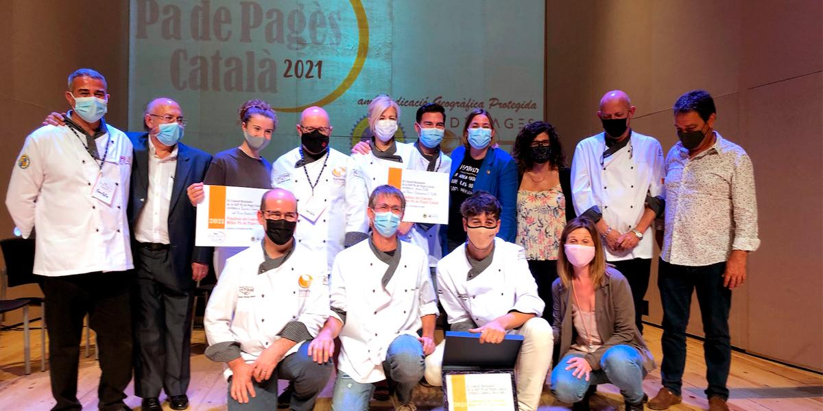 Participantes del concurso Mejor pa de pagès català