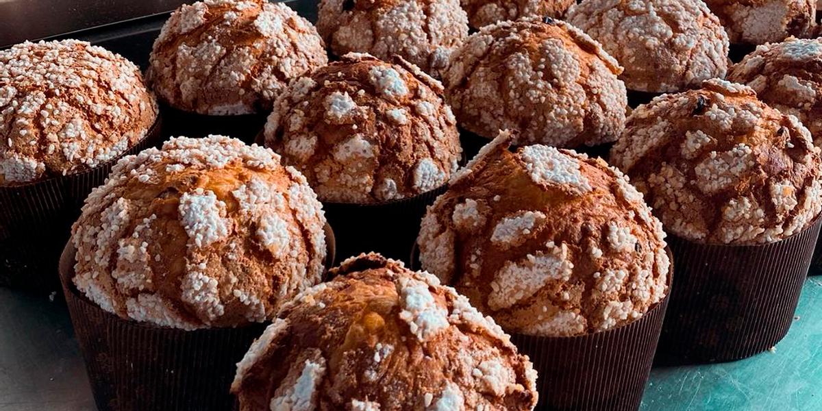 Panettones de la panadería-pastelería Zulay