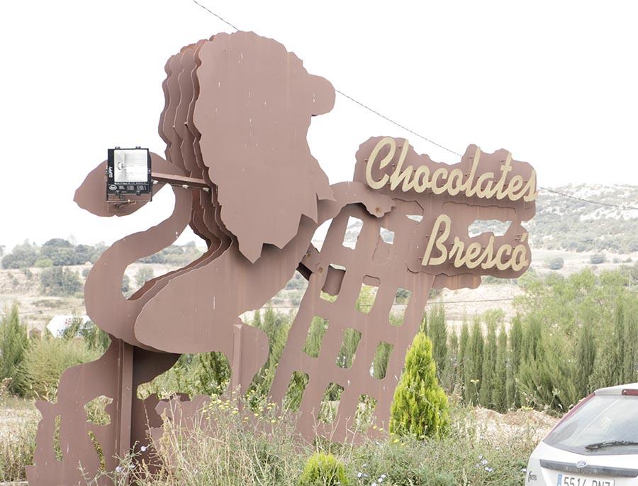 Imagen en el exterior de Chocolates Brescó en Benabarre