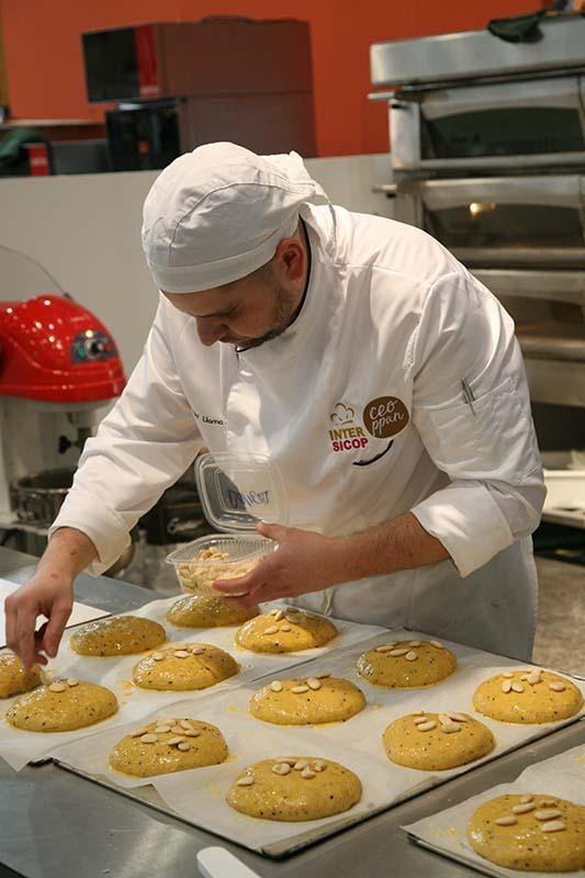 Demostración de panadería en Intersicop