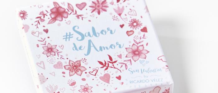 """Caja de bombones """"Sabor de Amor"""" de la paselería Moulin Chocolat"""