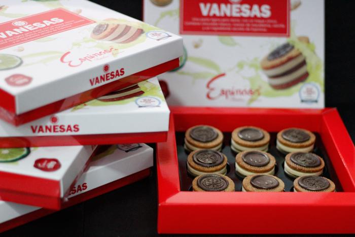 Vanesa, la mejor pasta de té de Murcia con su packaging