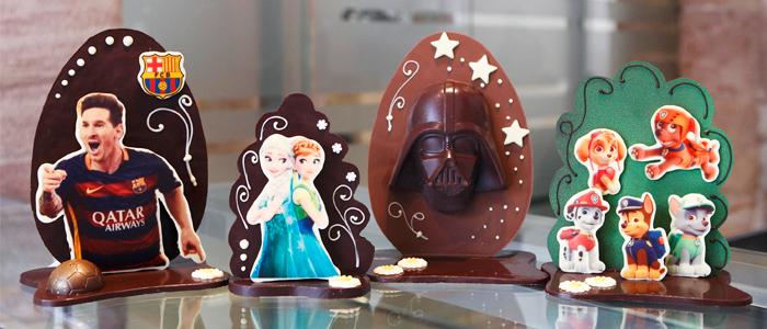Monas de Pascua con los personajes más demandados