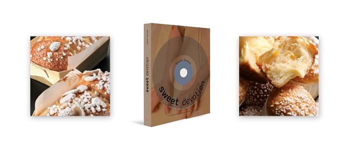 Portada y productos del libro Sweet Devotion de Daniel Álvarez