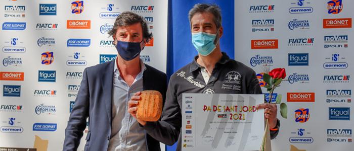 Miquel Guich ganador del mejor Pa de Sant Jordi
