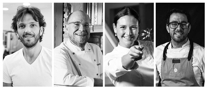 Jordi Bordas, Jordi Butrón, Andrea Dopico y Jesús Escalera algunos de los chefs ponentes del MIP