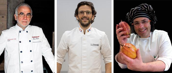 Jorge Pastor, Jordi bordas y Juan Ángel Rodrigálvarez