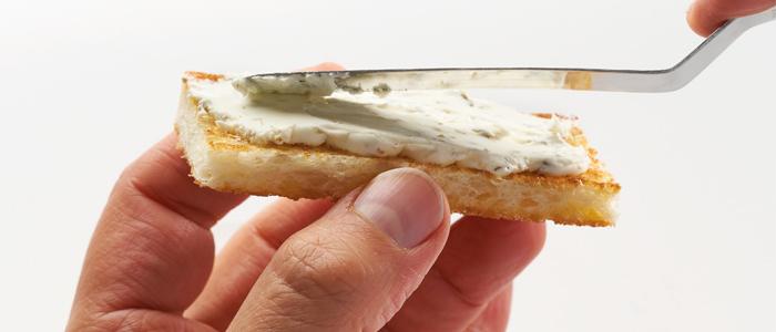 Crema untable de queso