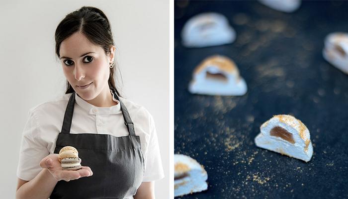 Camila Fiol y el marshmallow relleno de naranja