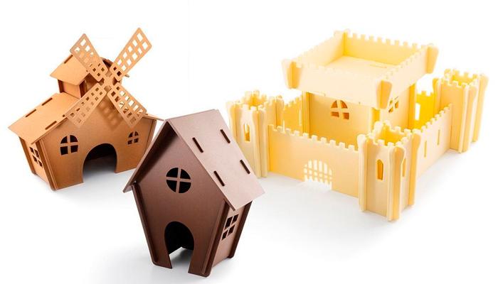 Castillo. molino y castillo de chocolate de Enric Monzonís
