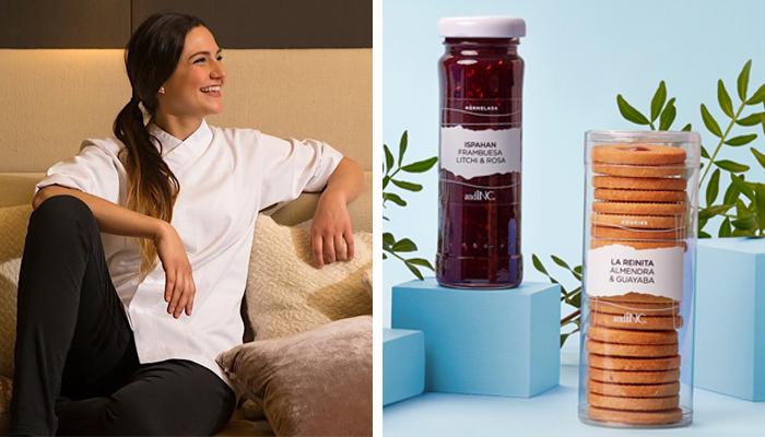 Andrea Dopico y sus productos de pastelería de impulso