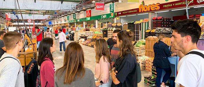 Visita guiada a un mercado