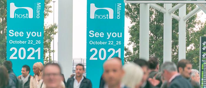 Carteles de la nueva edición de Host Milano