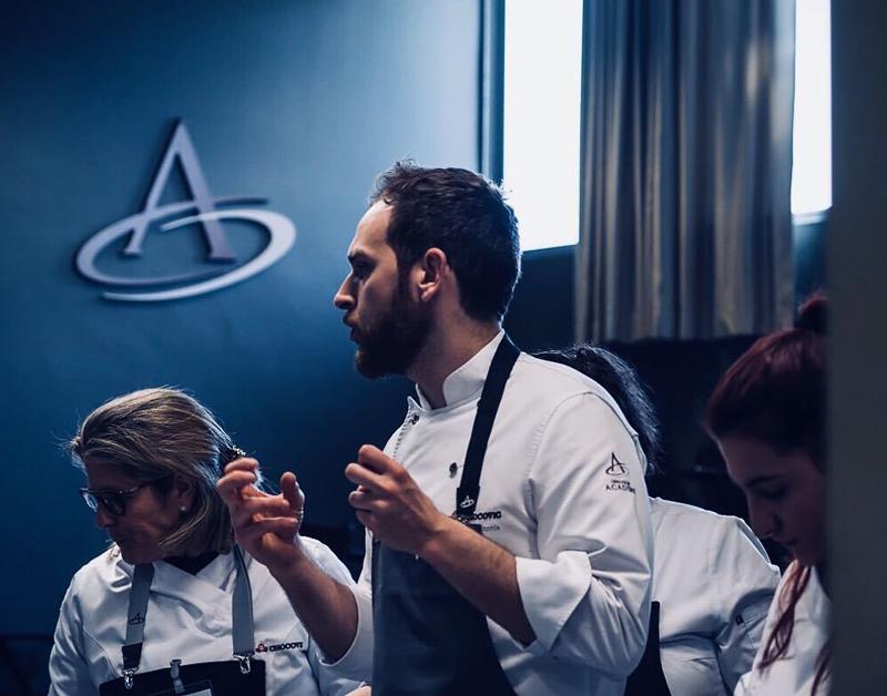Enric Monzonís en la Chocolate Academy