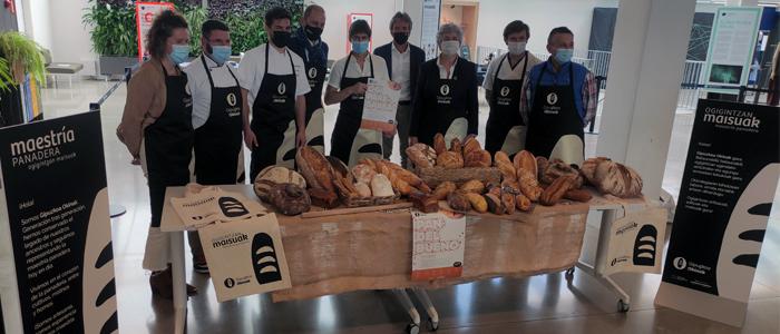Miembros de la Asociación de Panaderías Gipuzkoa Okinak