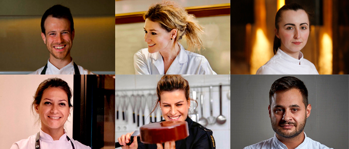 Álvaro Rodriguez Seda, Estela Gutiérrez, Gemma López, Carmen Capote, Fátima Gismero y Pablo Queijo