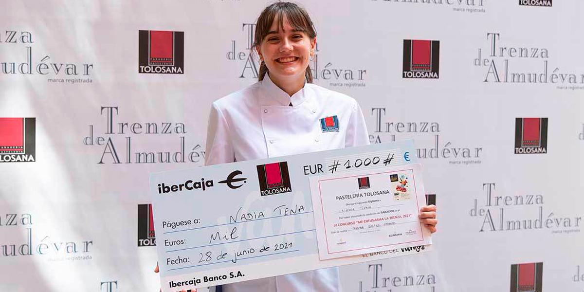 Nadia Tena ganadora del concurso