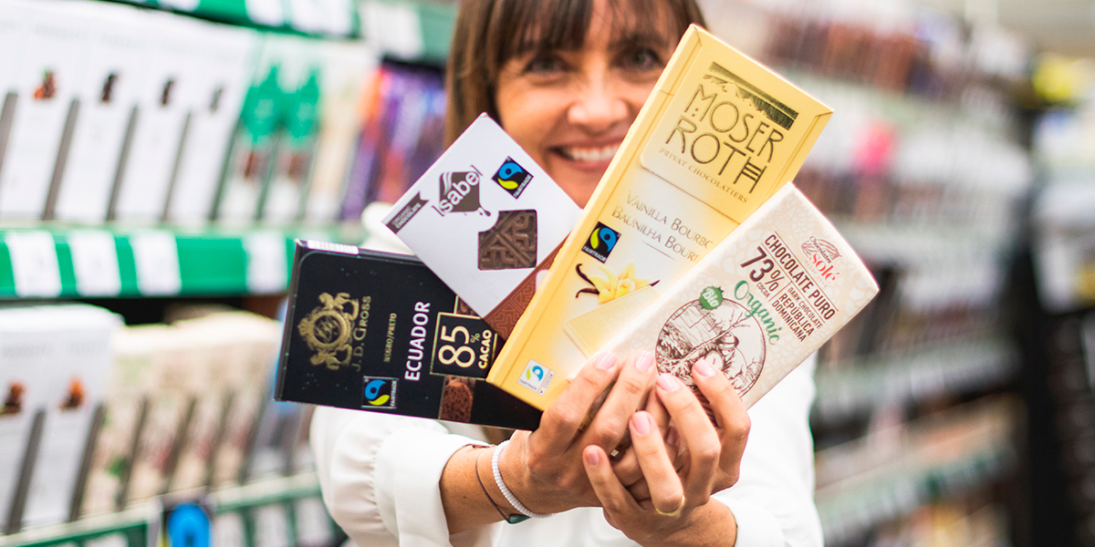 Chocolates de comercio justo