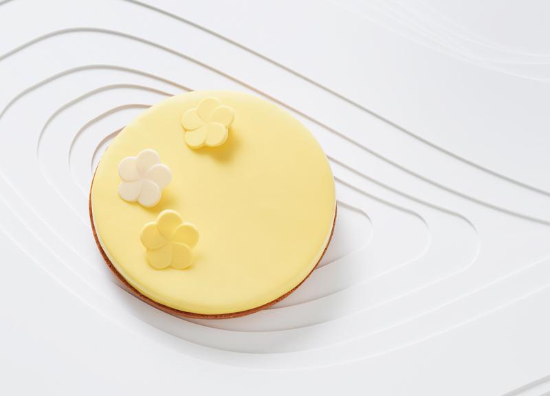 Pastel Infinitement yuzu de Pierre Hermé