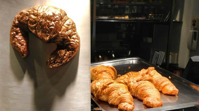 El premio y los croissants premiados