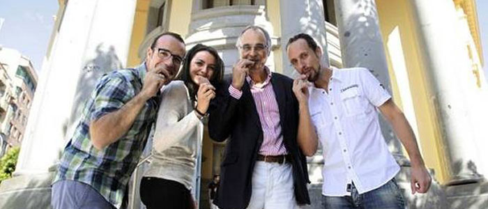 el grupo de investigadores de la Universidad de Granada que ha concluido que el chocolate no engorda