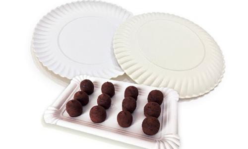 imagen de Bandejas y platos de cartón alimentario