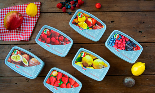 imagen de Fruta congelada 100% italiana