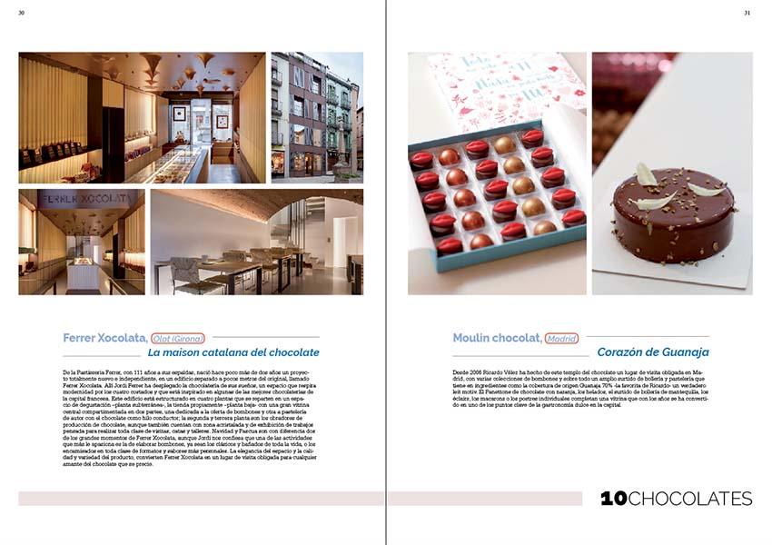 Mejores establecimientos con chocolates de elaboración propia en Dulcypas Book