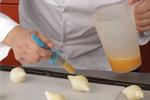 Pintando el croissant