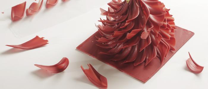 abeto de Navidad de chocolate de Yann Duytsche