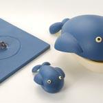 La mona de la ballena completamente desplegada