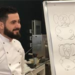 Raúl Bernal en su masterclass en Hangar78, Italia