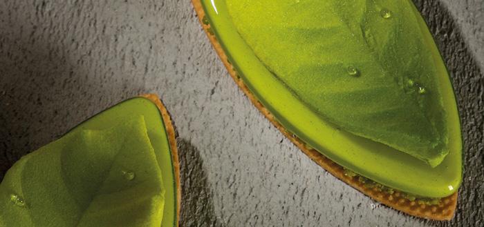Tarta de albahaca de Frank Haasnoot
