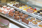 Vitrina de la pastelería Natcha