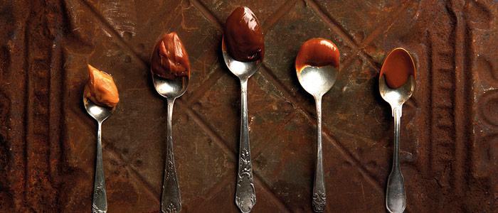 Tipos de dulce de leche de Luciano García