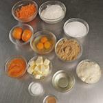paso 1 cake zanahoria