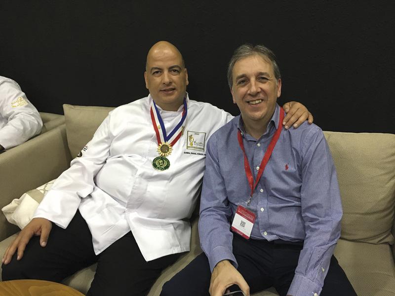 Kamal Rahal y Alberto Ruiz durante la pasada edición de Cremai