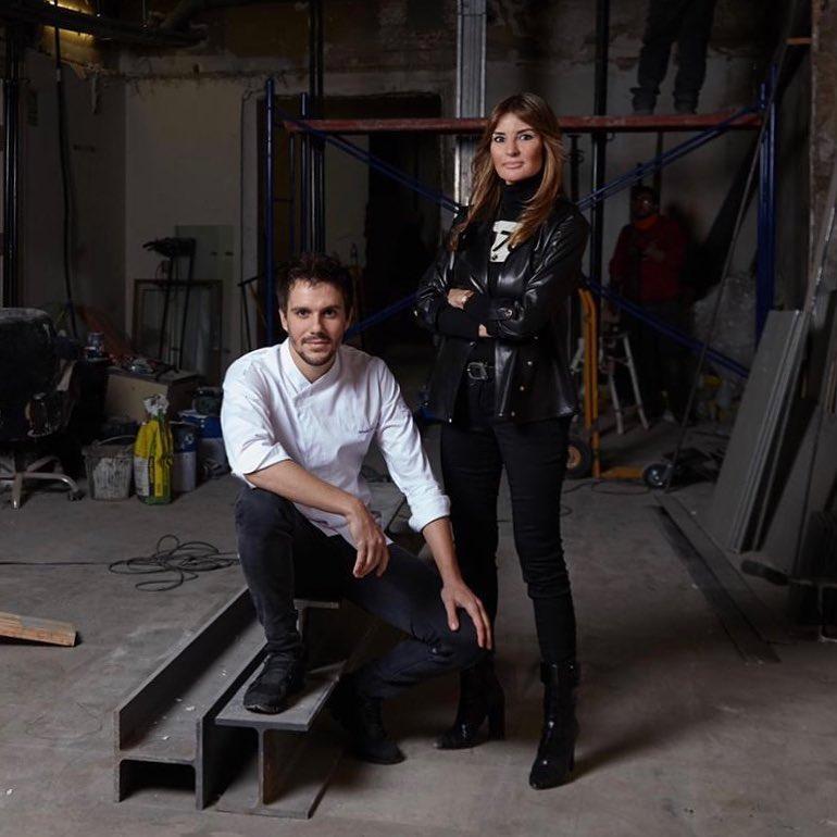 Silvia Hofmann con Miquel Guarro en una imagen de archivo