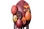 Huevo-máscara de la Maison du Chocolat