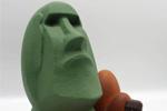 Moai de Pascua de Marc Rodellas
