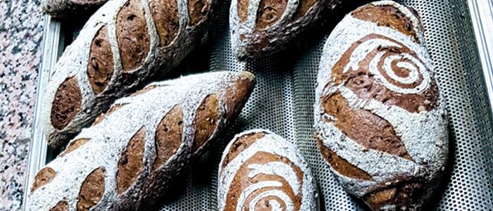Panes elaborados con germinados