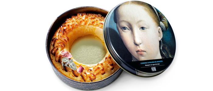 Corona Catalina de Aragón de la pastelería Ascaso