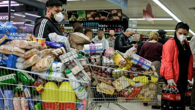 supermercados en el coronavirus