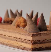 Tarta de Chocolate Conos de Avilés de Emilio Vidal
