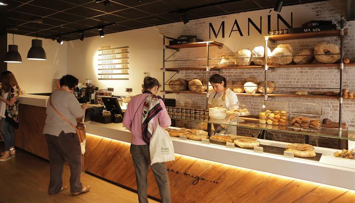 La panadería Manín vista por dentro
