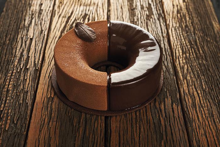 Cremoso de chocolate y naranja de Luciano García