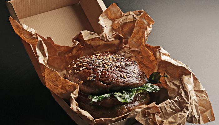 Hamburguesa vegana de Fiona Arrizabalaga