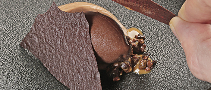 Postre de chocolate de Adrián Ruiz