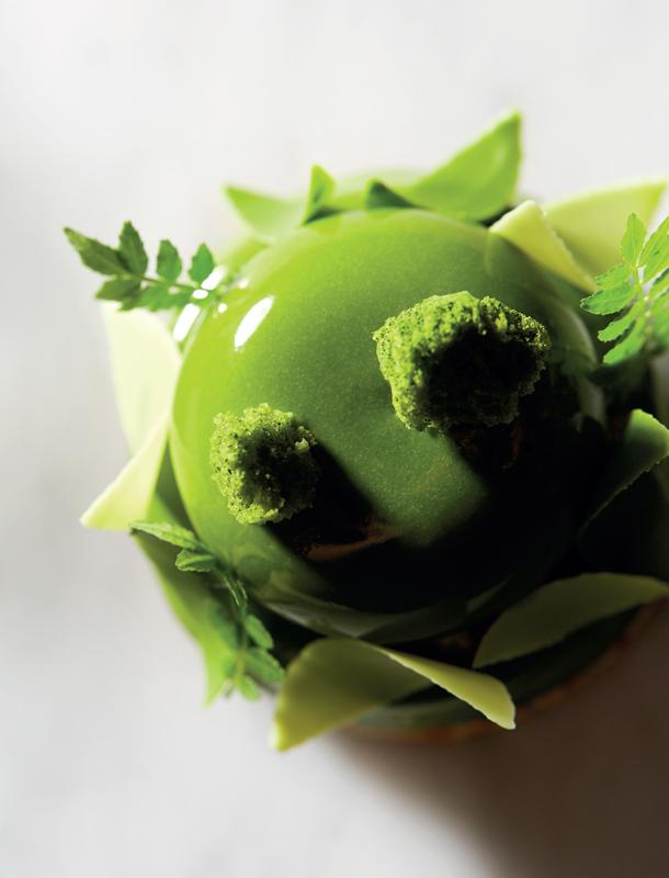 Té matcha y kuromitsu con té genmaicha de Gabriele Riva